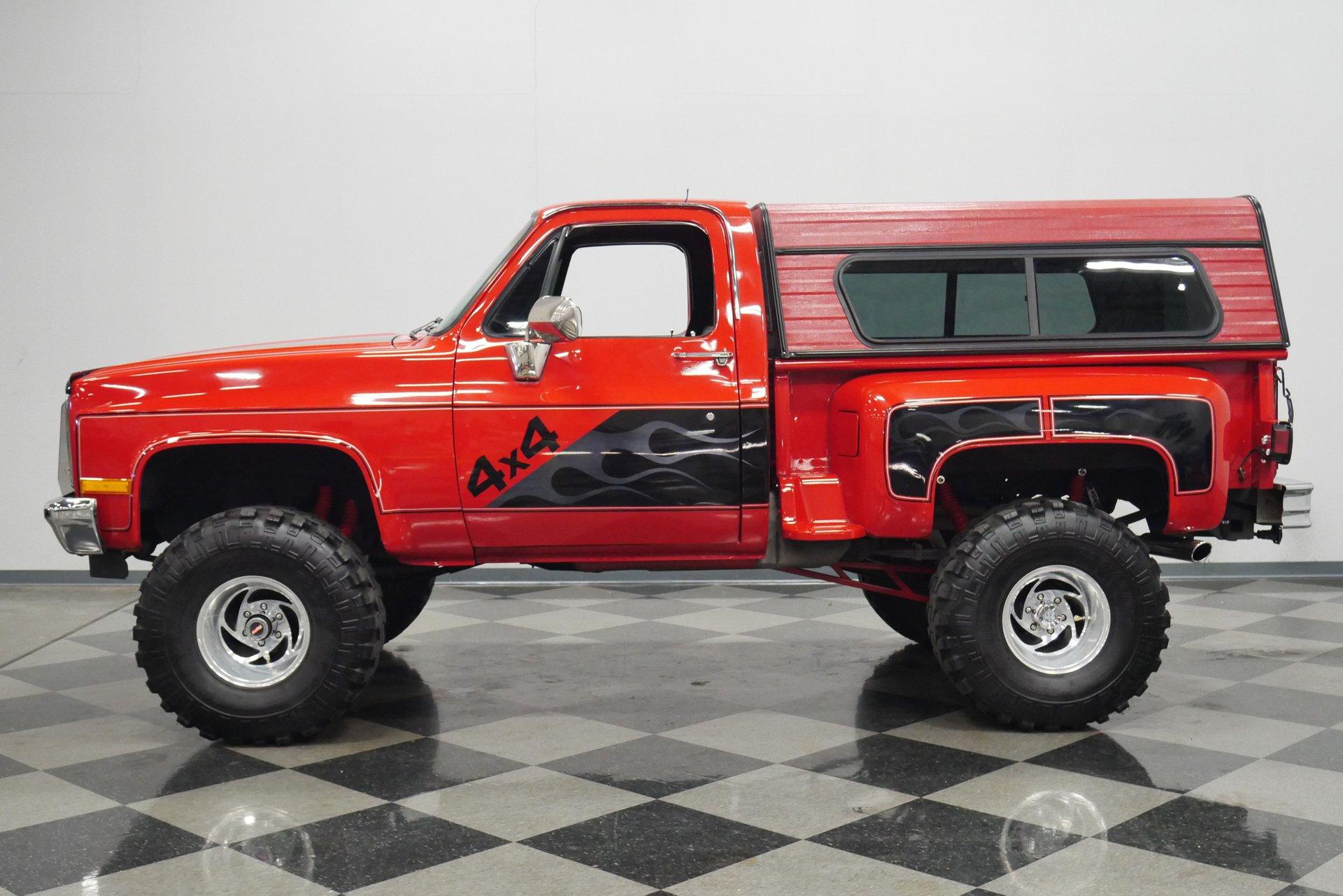 1987 gmc 1500 4x4 custom