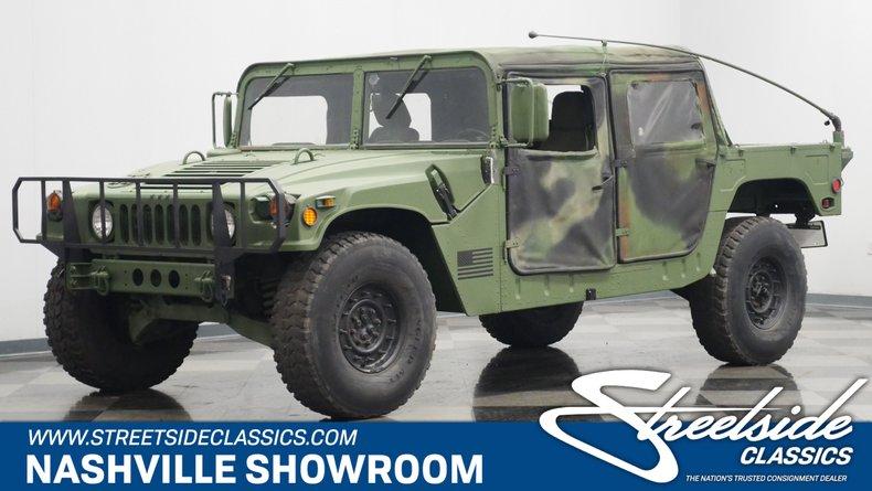 For Sale: 1994 AM General M998 Humvee