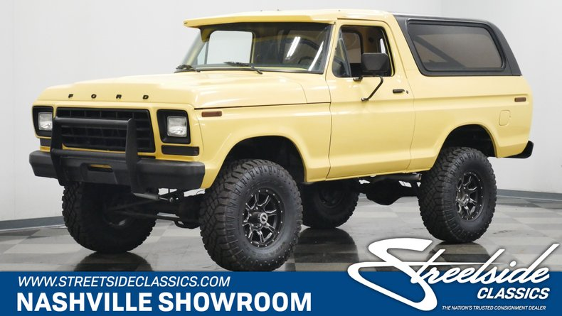 For Sale: 1978 Ford Bronco