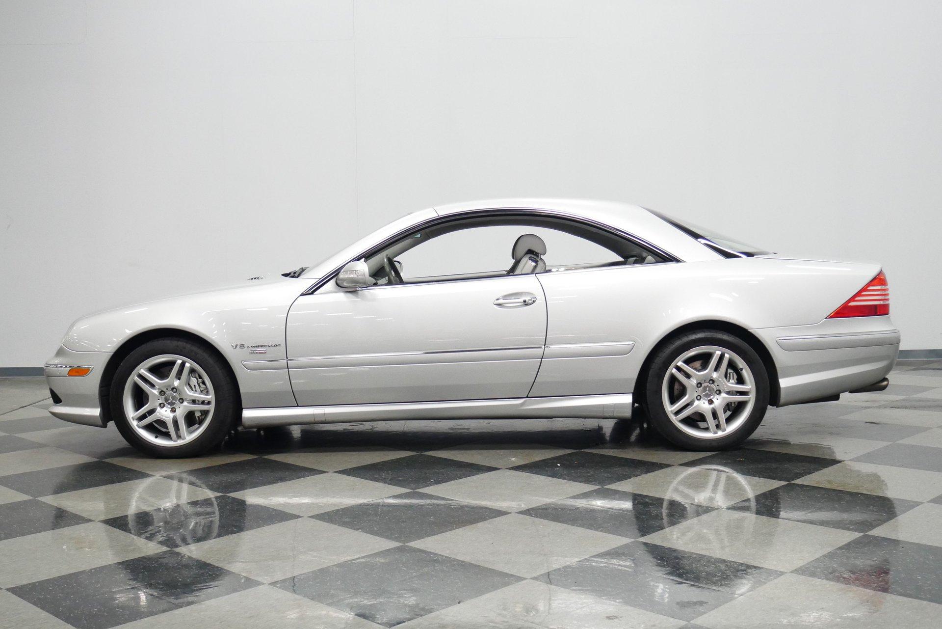 2003 mercedes benz cl55 amg renntech
