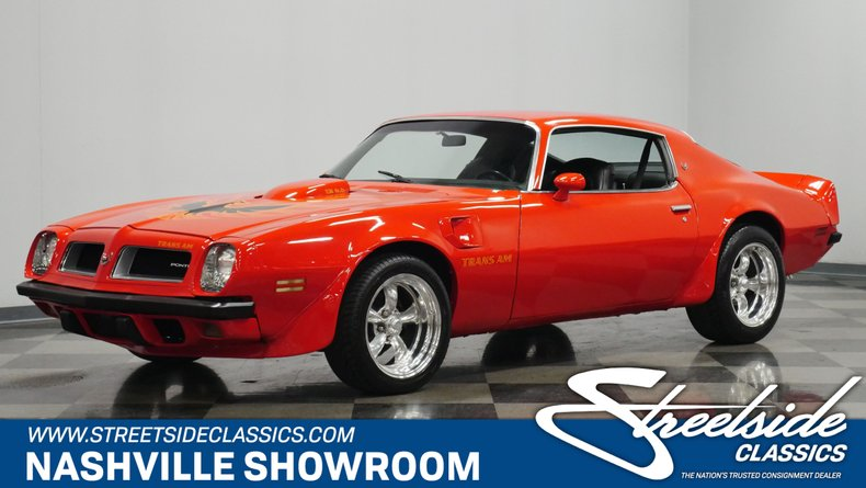 For Sale: 1974 Pontiac Firebird
