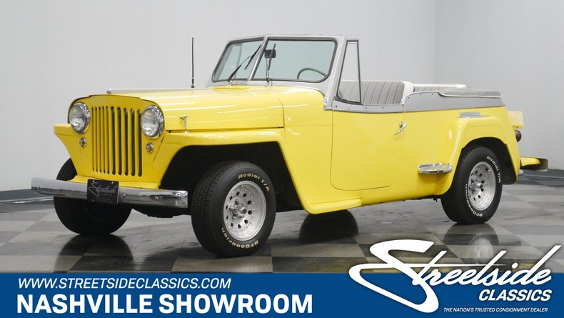 For Sale: 1949 Willys Jeepster