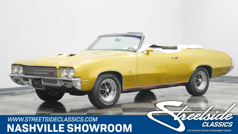 For Sale: 1971 Buick GS