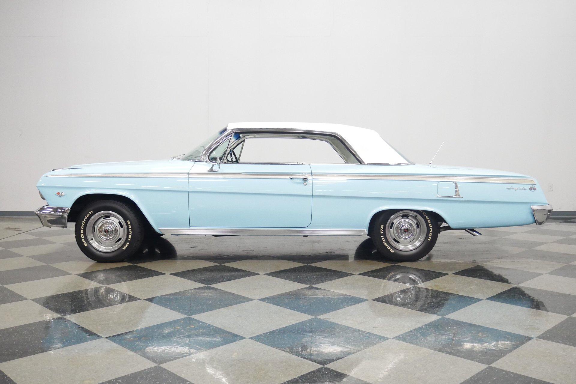 1962 chevrolet impala ss tribute