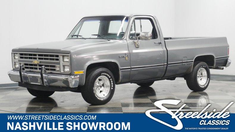 For Sale: 1987 Chevrolet C10