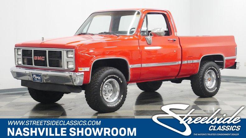 For Sale: 1985 GMC K1500 Sierra