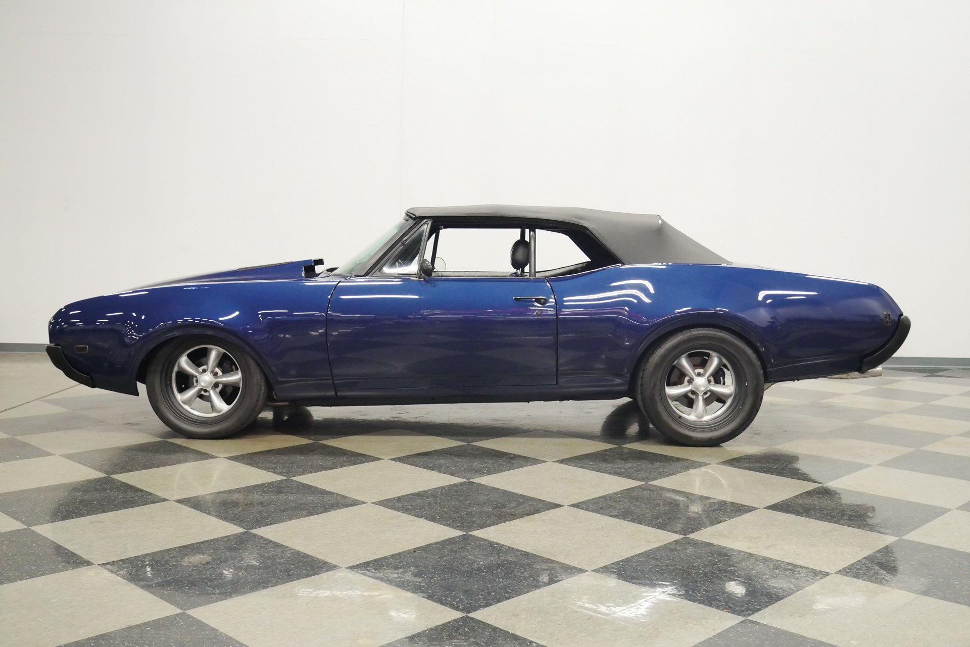 1968 oldsmobile cutlass 442 convertible pro touring