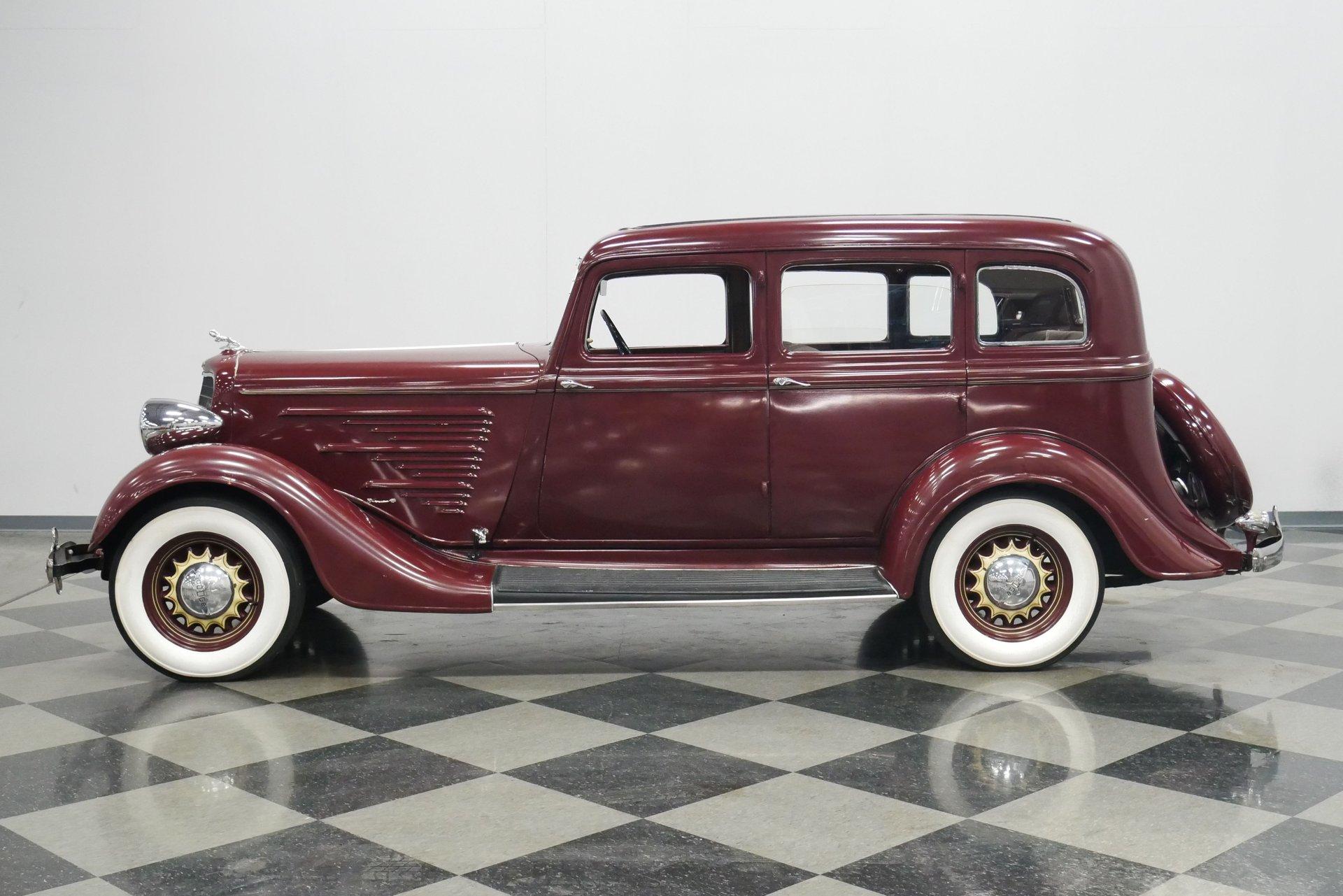 1934 dodge dr sedan
