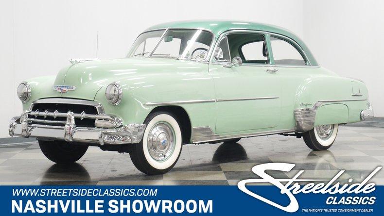 For Sale: 1952 Chevrolet Styleline