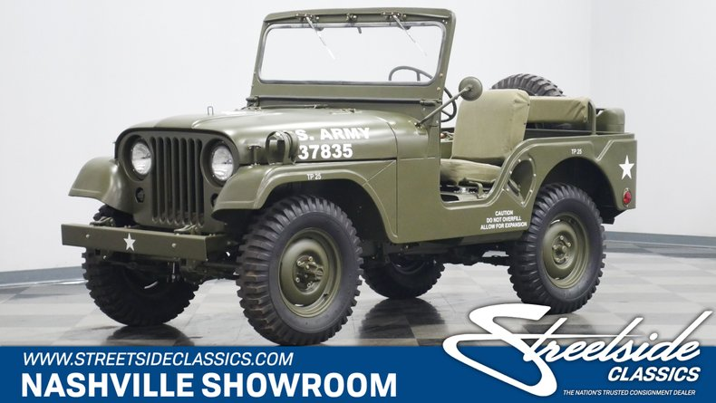 For Sale: 1952 Willys M38A1 Military Jeep