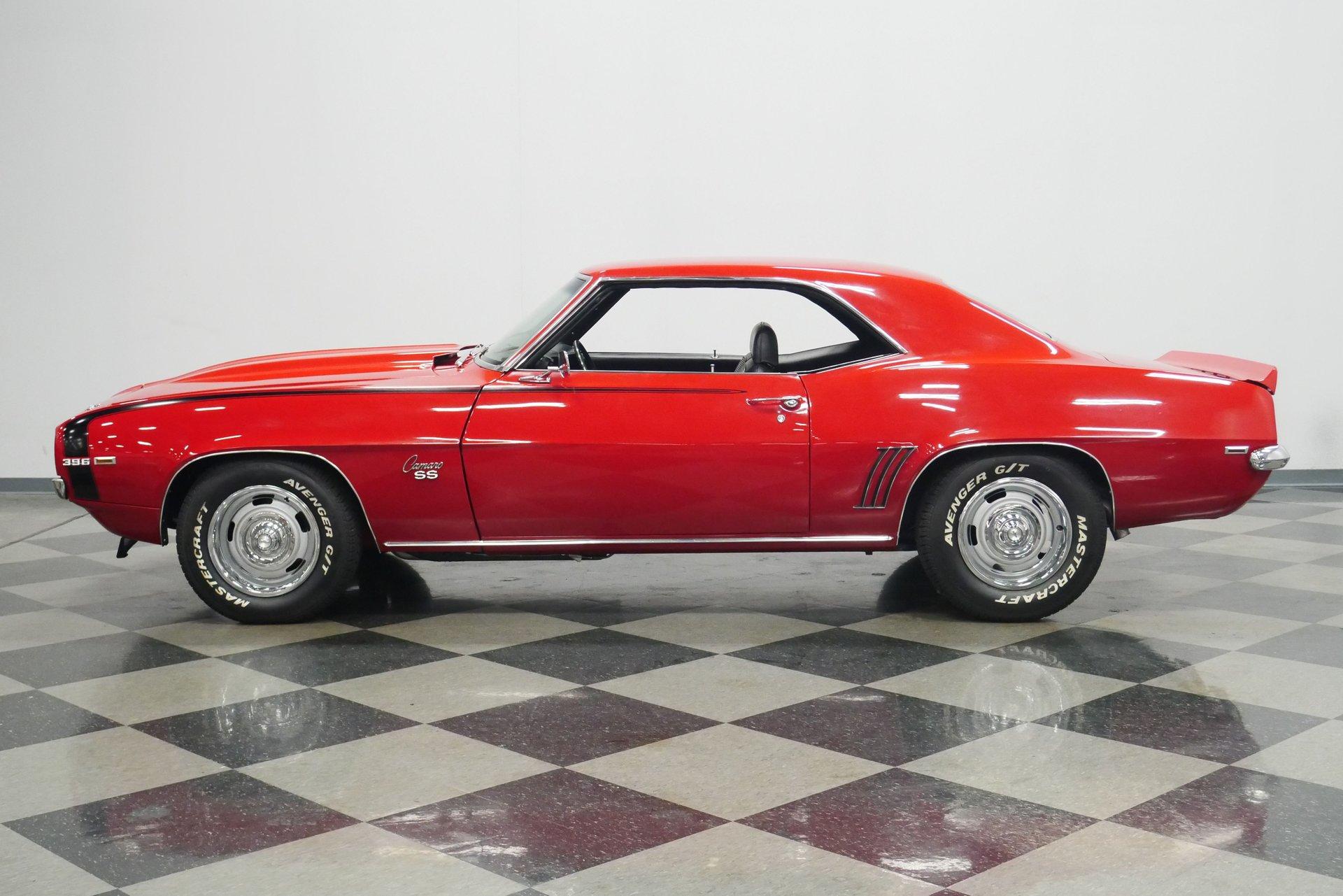 1969 chevrolet camaro ss 454