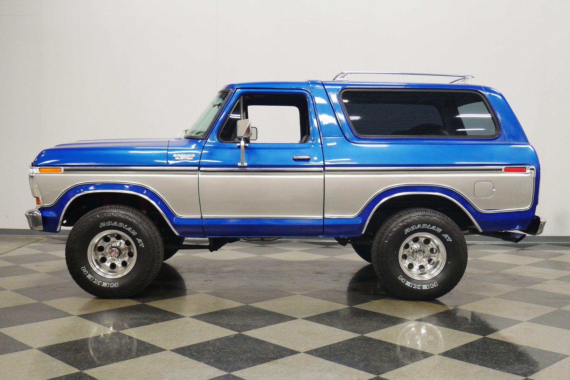 1978 ford bronco custom 4x4