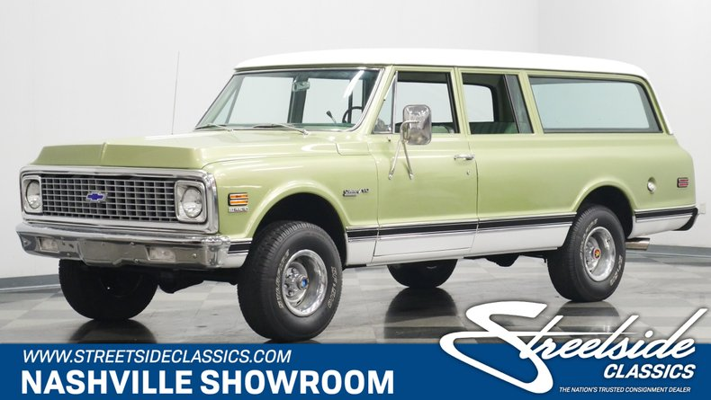 For Sale: 1972 Chevrolet Suburban