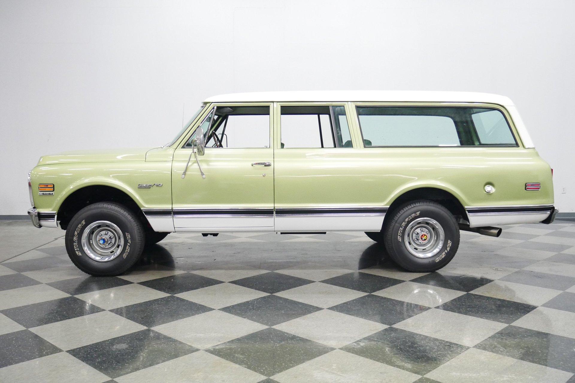 1972 chevrolet suburban 4x4 restomod