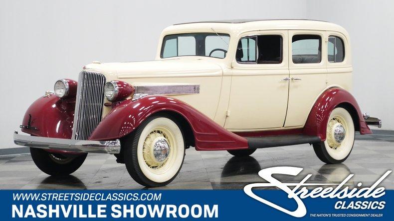 For Sale: 1934 Pontiac 8