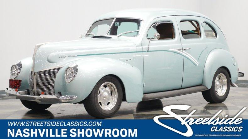 For Sale: 1940 Mercury Sedan