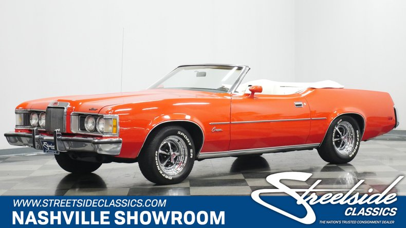 For Sale: 1973 Mercury Cougar