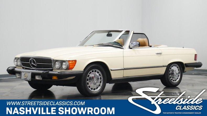 For Sale: 1985 Mercedes-Benz 380SL