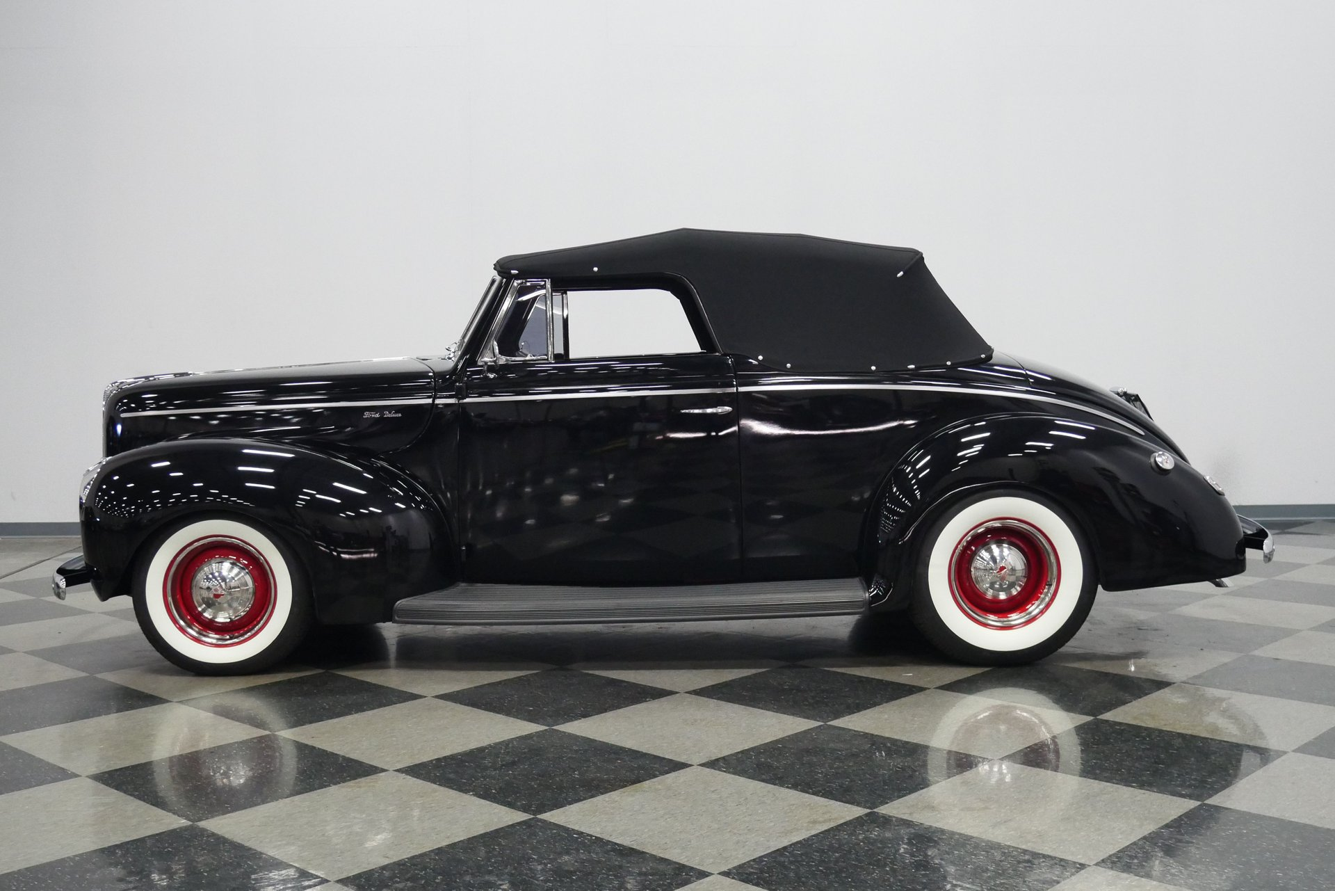 1940 ford deluxe convertible restomod