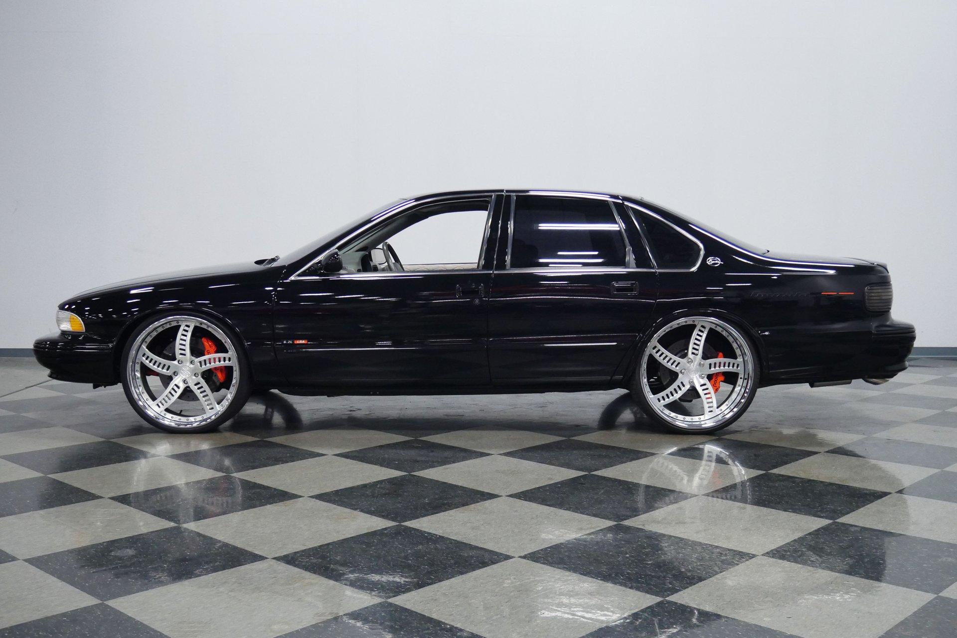 1996 chevrolet impala ss restomod