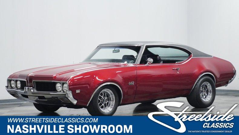 For Sale: 1969 Oldsmobile 442