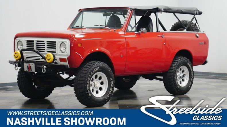 For Sale: 1979 International Scout II