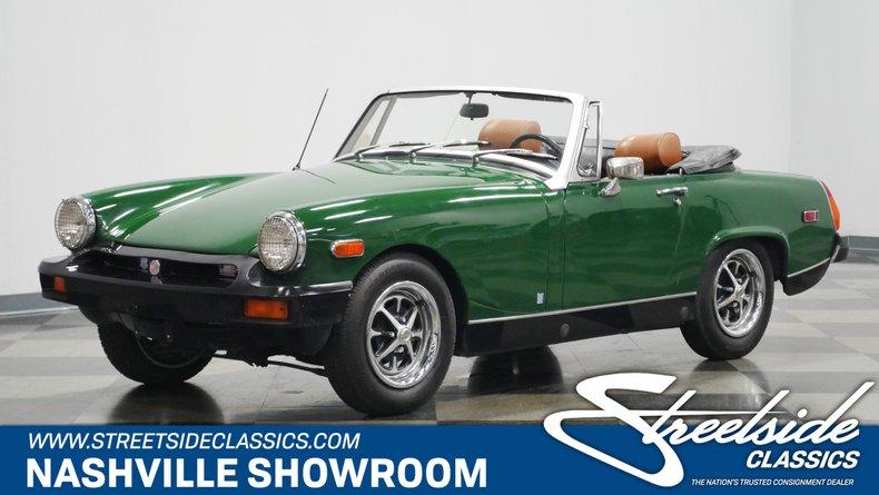 For Sale: 1975 MG Midget