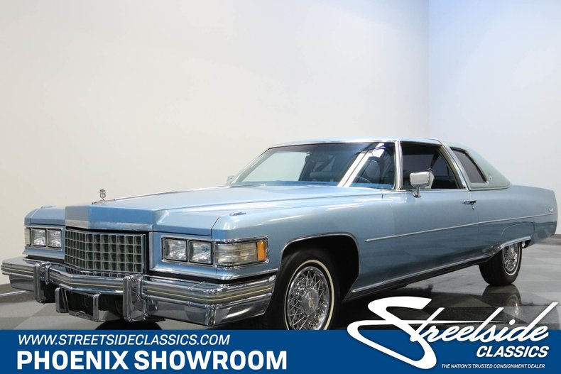 For Sale: 1976 Cadillac Coupe DeVille