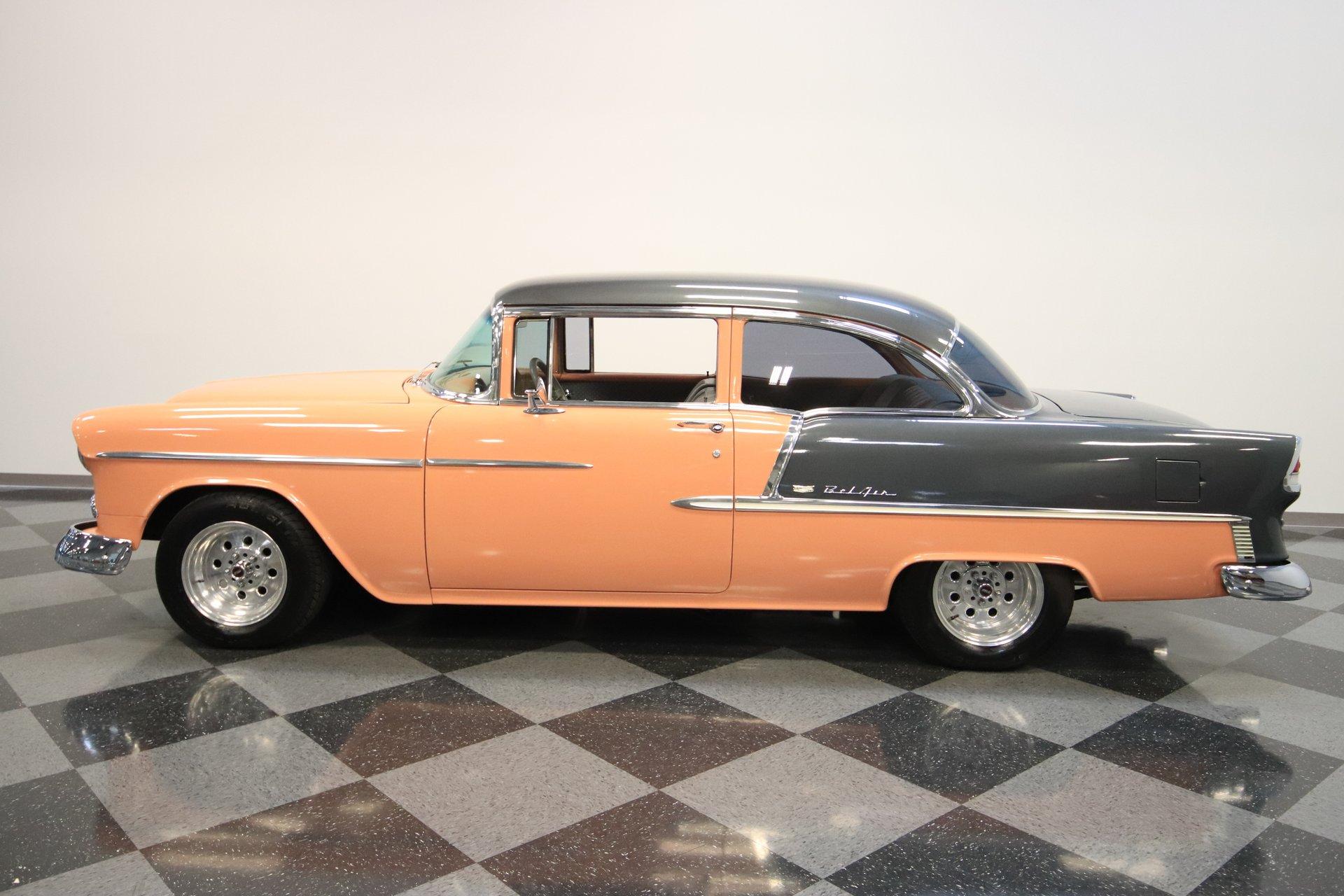 1955 chevrolet bel air resto mod