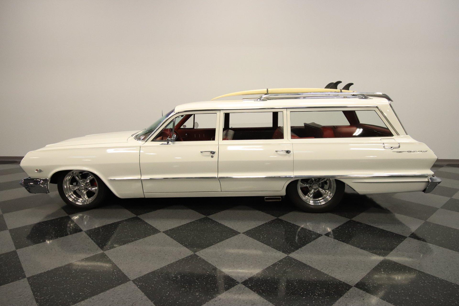 1963 chevrolet bel air restomod wagon