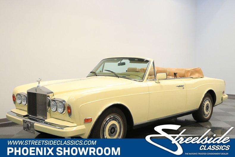 For Sale: 1988 Rolls-Royce Corniche