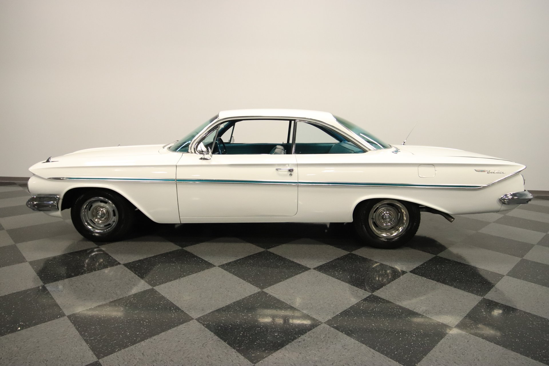 1961 chevrolet bel air bubble top