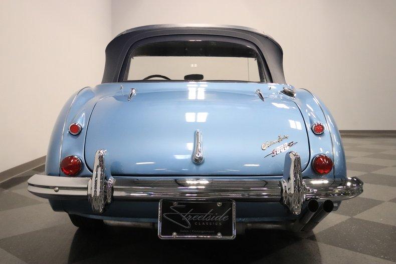 1965 Austin Healey 3000 Mark III 15