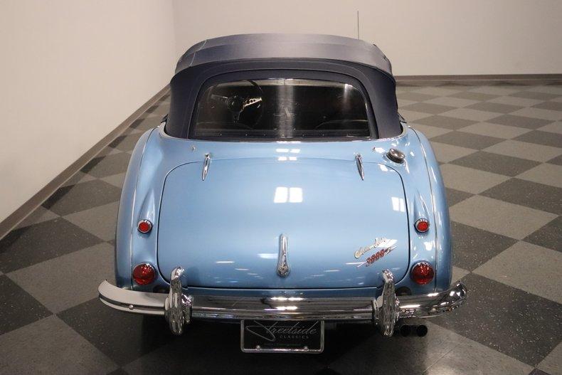 1965 Austin Healey 3000 Mark III 16