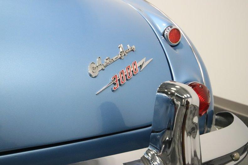 1965 Austin Healey 3000 Mark III 68