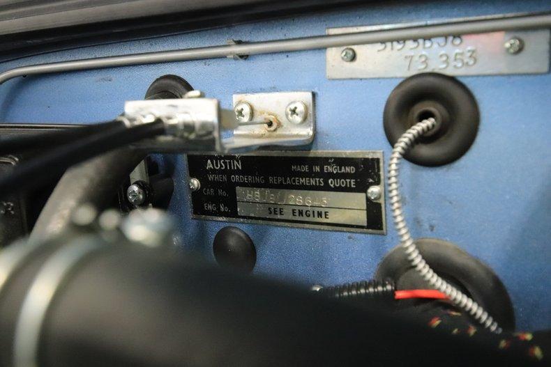 1965 Austin Healey 3000 Mark III 61