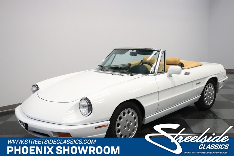 For Sale: 1991 Alfa Romeo Spider Veloce