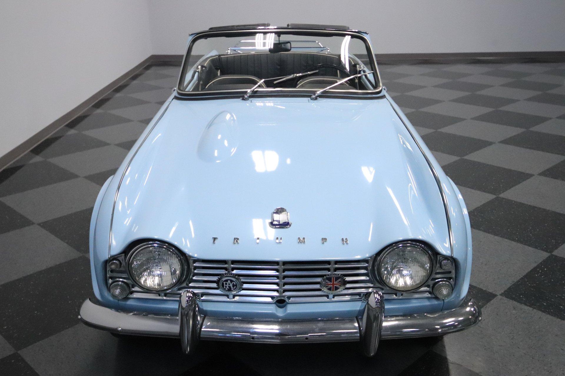 1962 Triumph Tr4 Streetside Classics The Nations Trusted