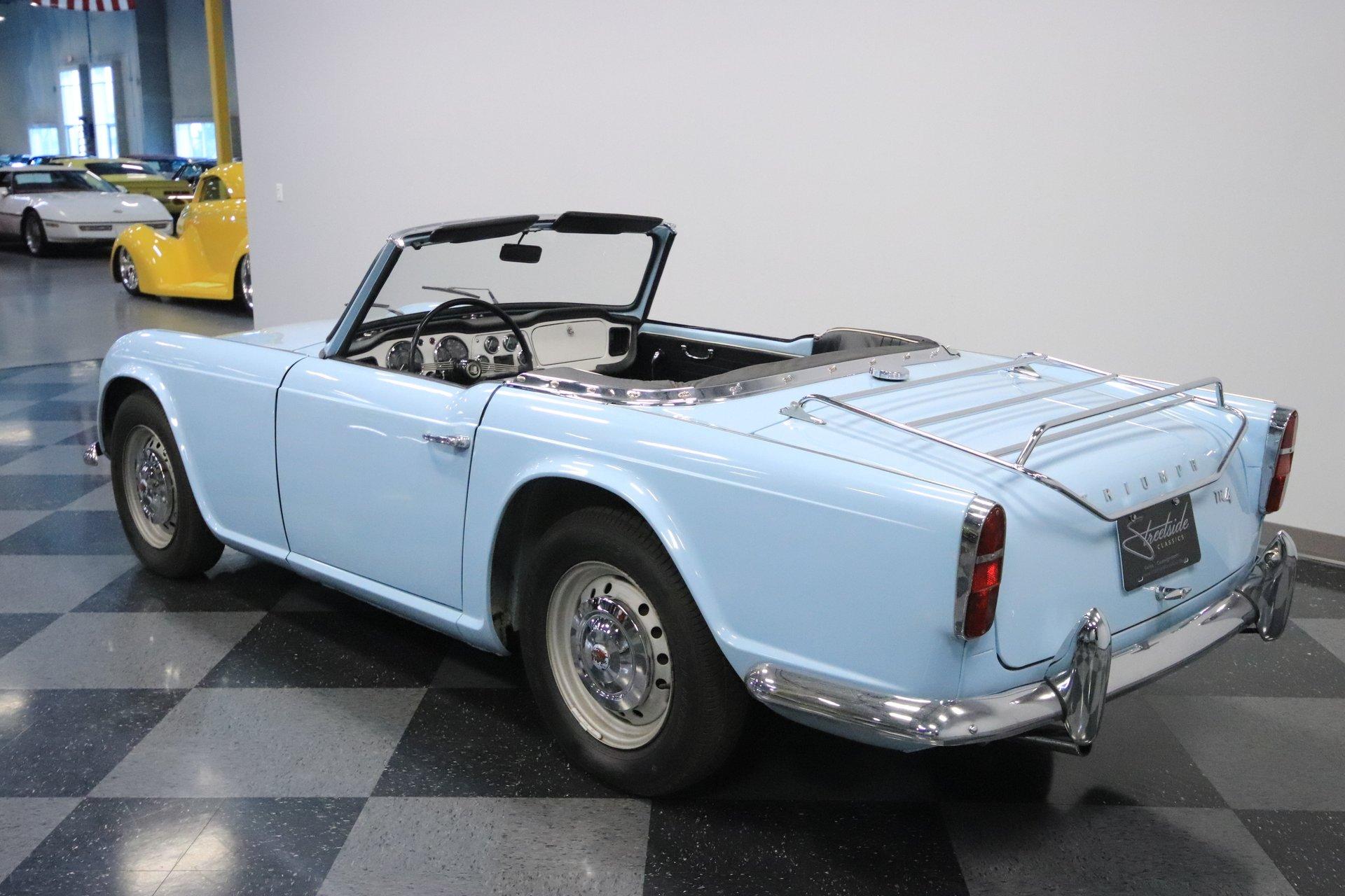 1962 Triumph TR4 | Streetside Classics - The Nation's Trusted