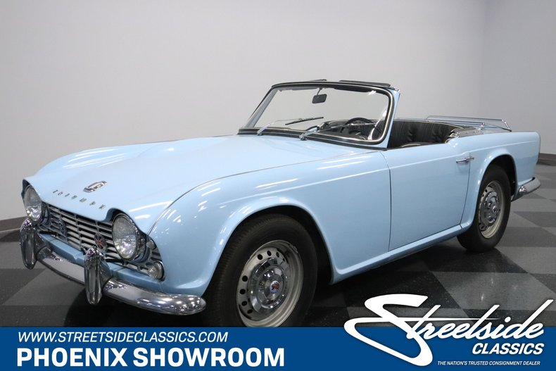 For Sale: 1962 Triumph TR4