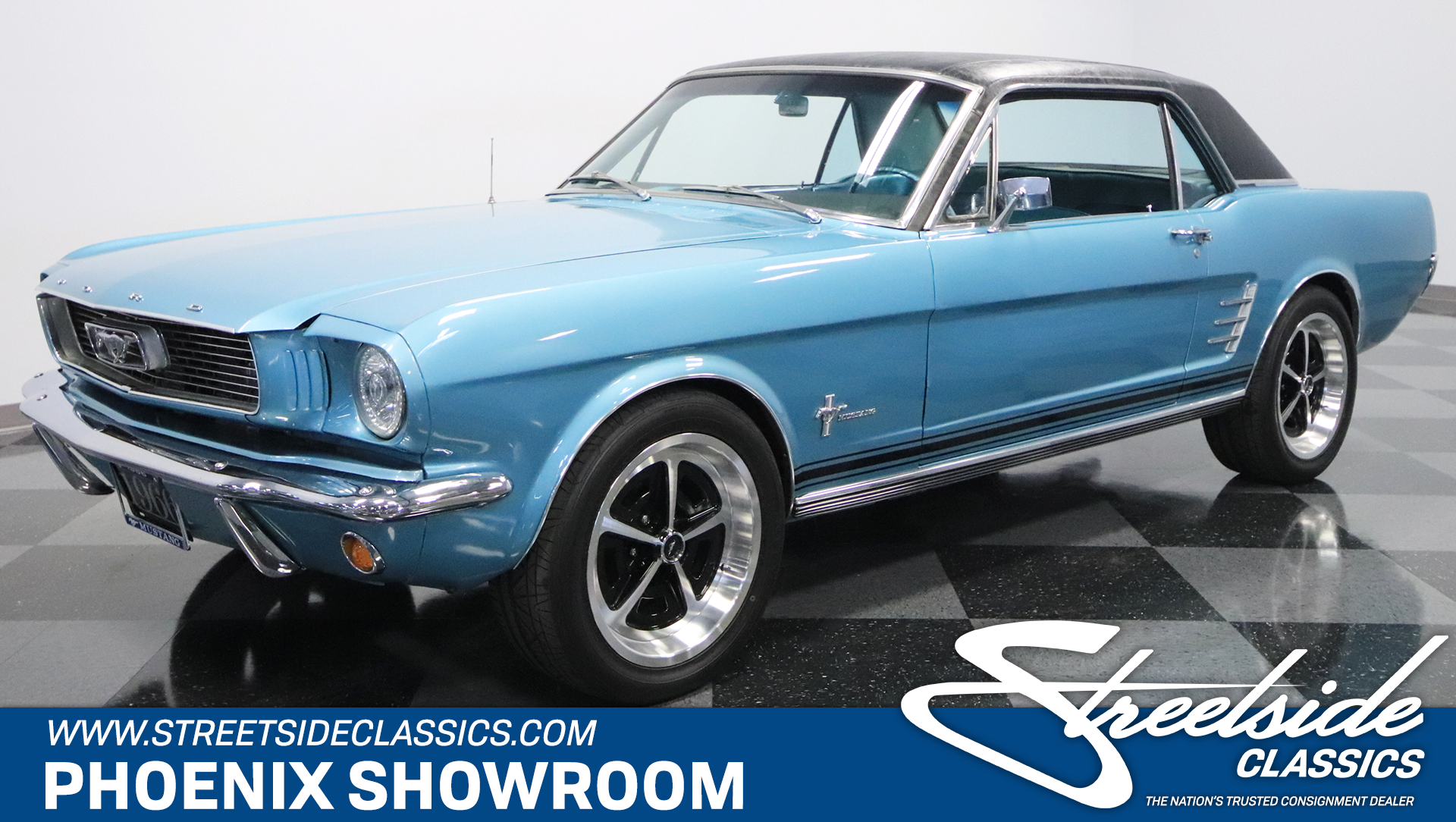 1966 ford mustang coyote restomod
