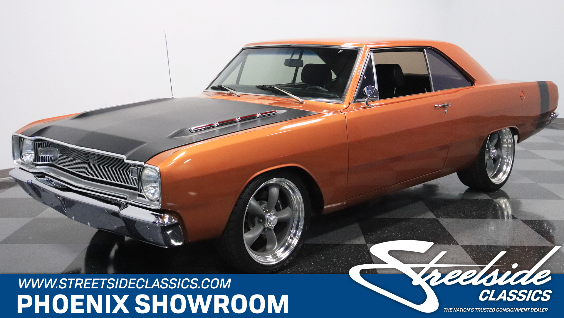 1967 dodge dart restomod