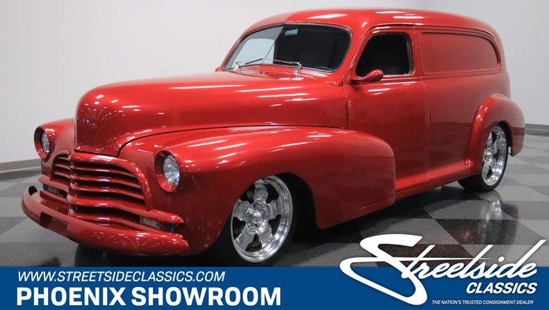 For Sale: 1946 Chevrolet Sedan Delivery