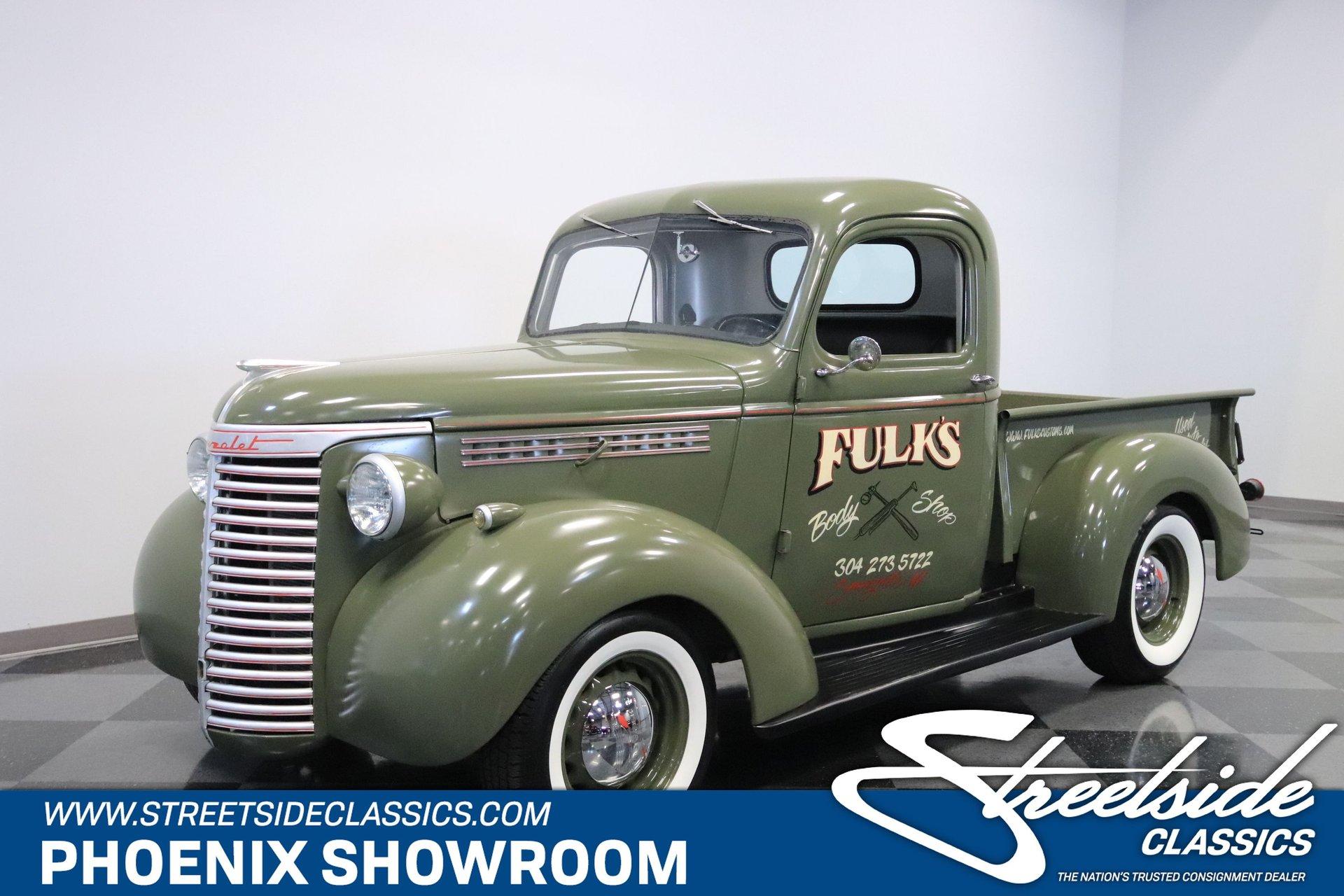 1940 chevrolet 3 4 ton pickup
