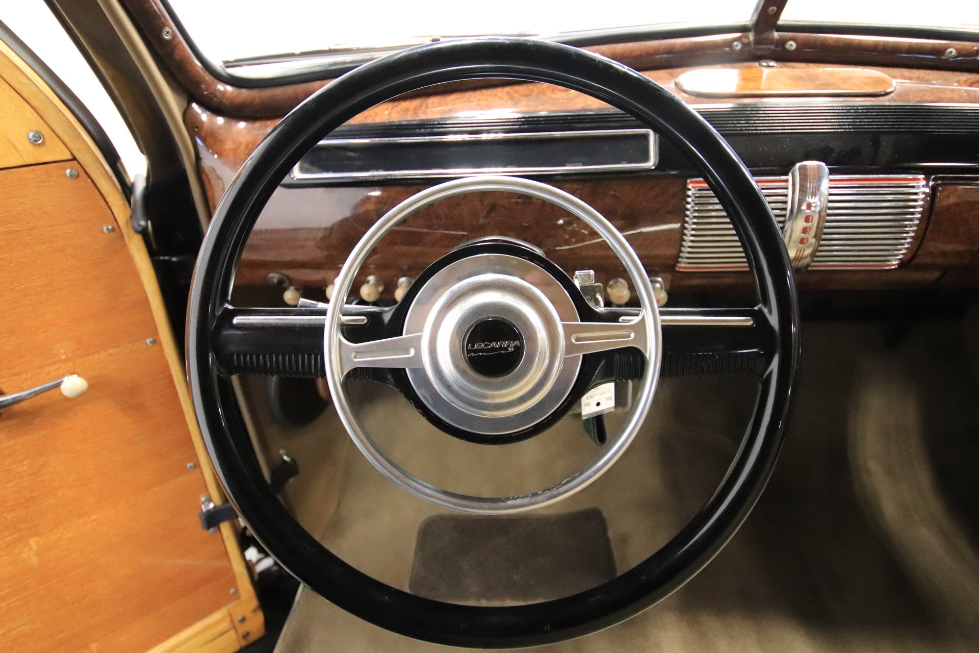 1941 Ford Super Deluxe Streetside Classics The Nations Trusted Station Wagon View 360