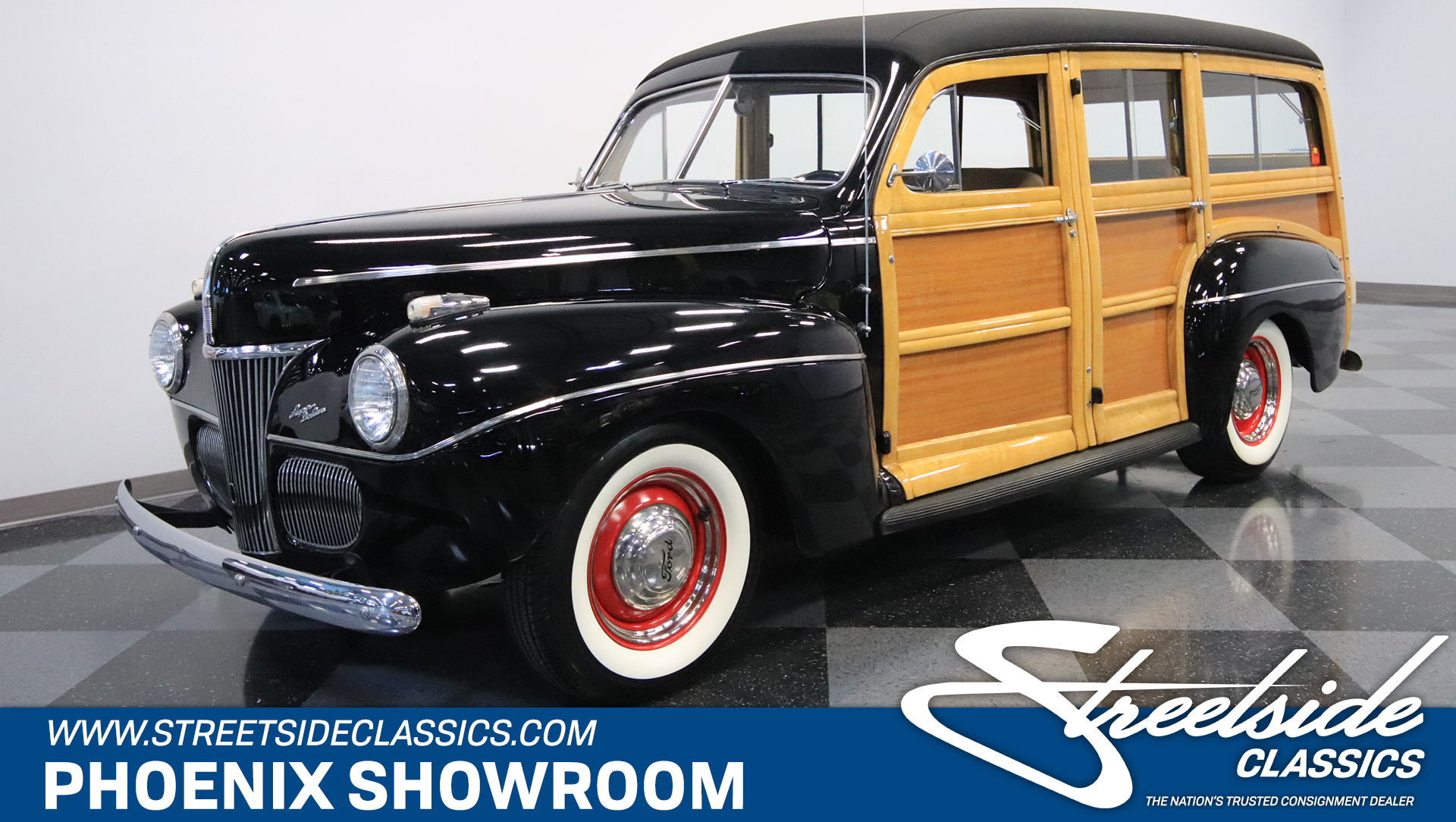 1941 ford super deluxe woody wagon