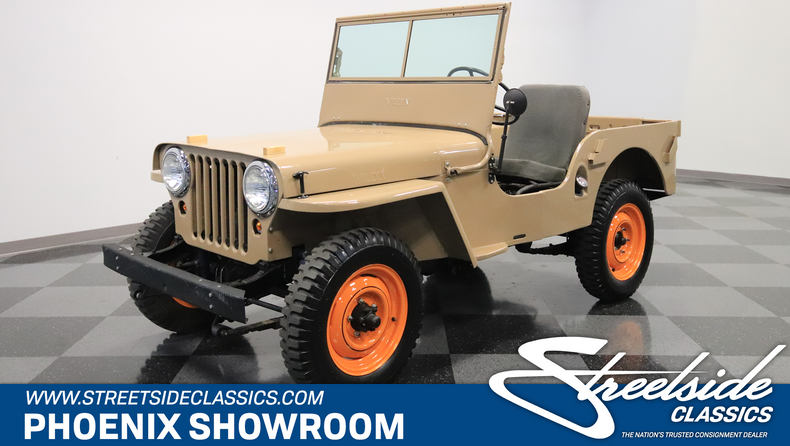 For Sale: 1946 Willys CJ2A