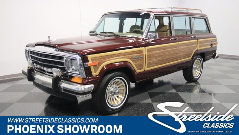 For Sale: 1987 Jeep Grand Wagoneer