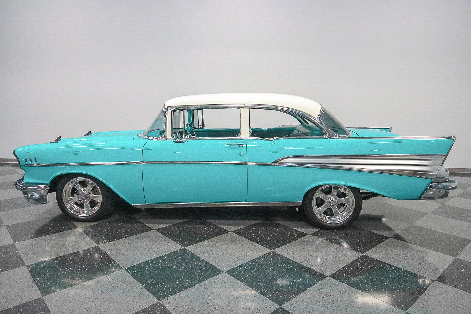1957 chevrolet bel air 2 door sedan