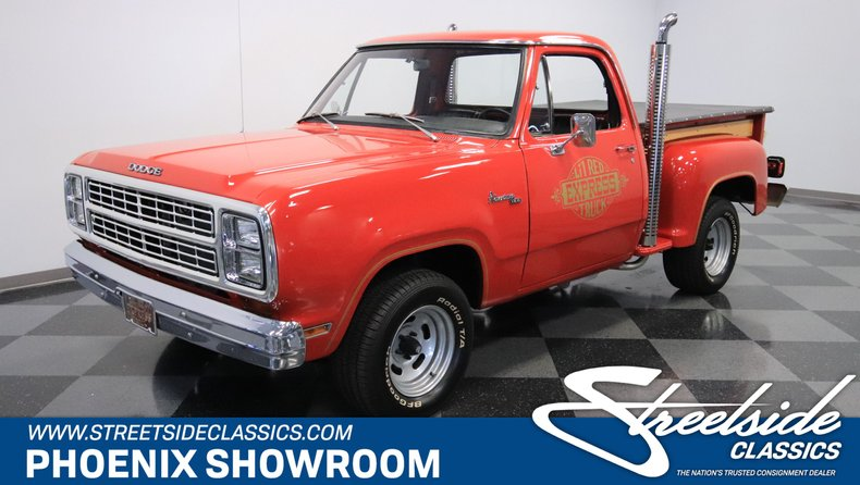For Sale: 1979 Dodge Lil Red Express